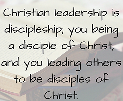 Discipleship-Leadership Lifestyle